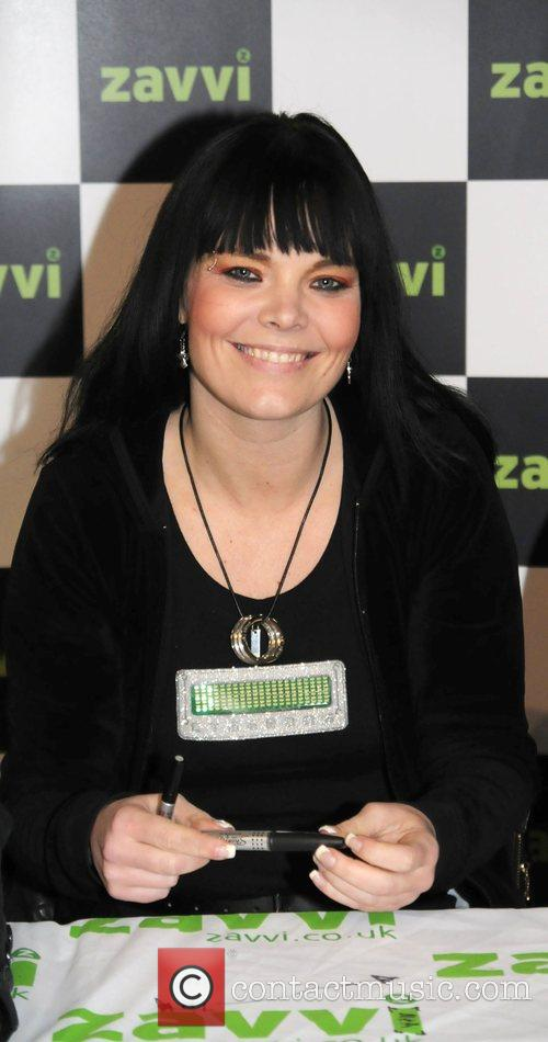 Anette Olzon Nightwish sign their new album 'Dark...