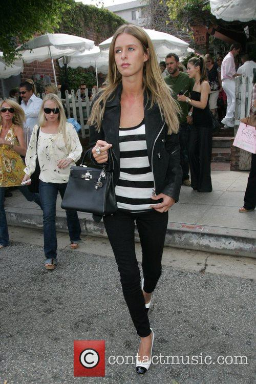 Nikki Hilton goes shopping at her sisters, Paris,...
