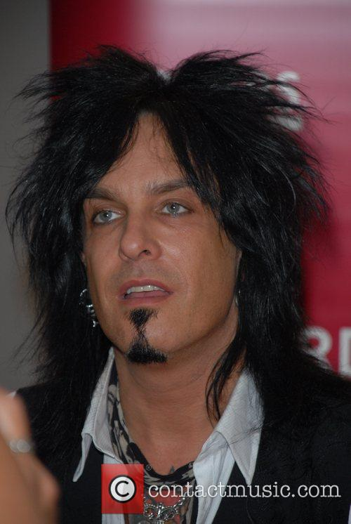 Nikki Sixx and Motley Crue 11