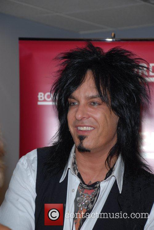 Nikki Sixx and Motley Crue 8