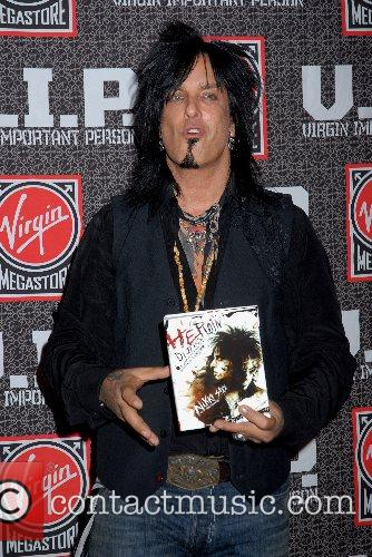 Nikki Sixx, Rock Star and Virgin 10