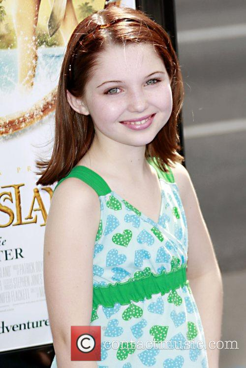 Abigail Breslin  arrives at the premiere of...