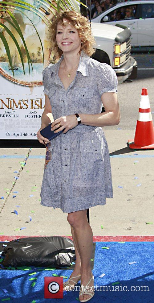 Jodie Foster  arrives at the premiere of...