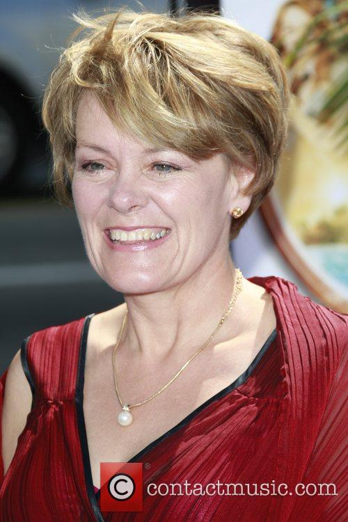 Wendy Orr  arrives at the premiere of...