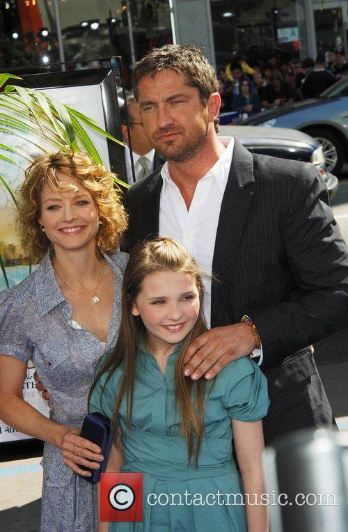 Jodie Foster, Gerard Butler and Abigail Breslin The...