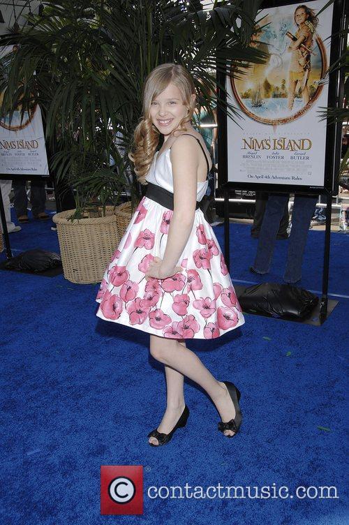 Chloe Moretz The World Premiere of Nim's Island...