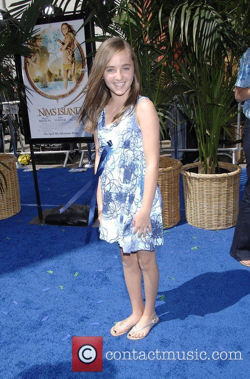 Rachel Fox The World Premiere of Nim's Island...