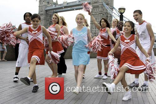 Child dancers perform High School Musical routines in...