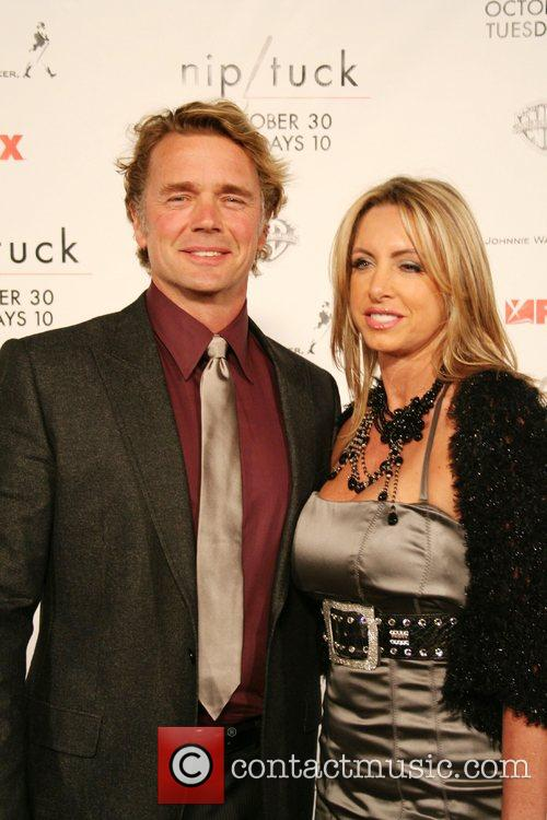 John Schneider and Elly Castle