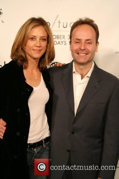 Ally Walker and John Landgraf
