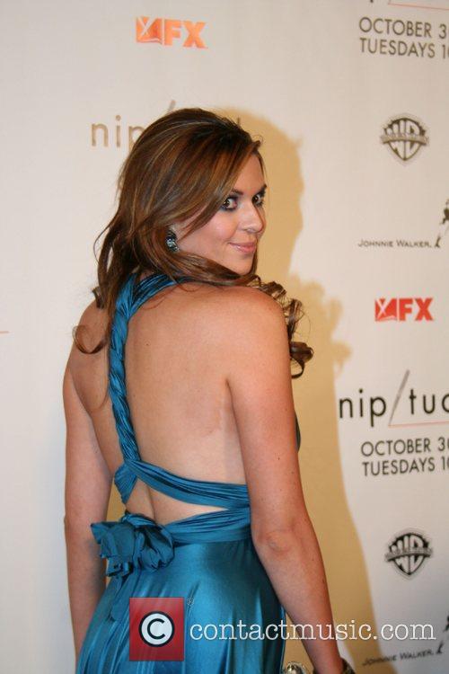 Carly Steele Nip/Tuck Season 5 Premiere Screening held...
