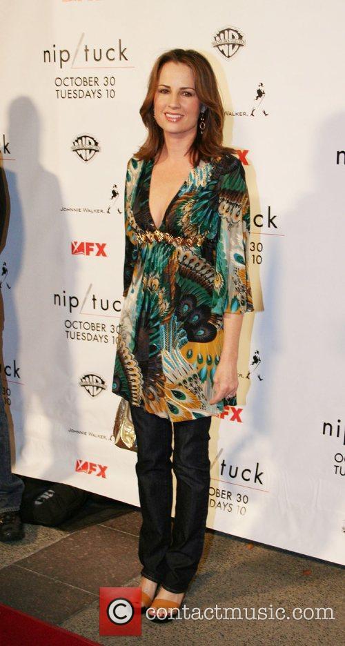 Paula Marshall Nip/Tuck Season 5 Premiere Screening held...