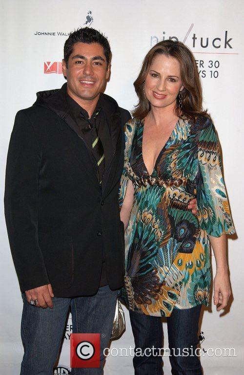 Danni Nucci and Paula Marshall Nip/Tuck season five...