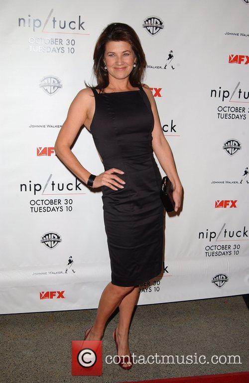 Daphne Zuniga Nip/Tuck season five premiere at Paramount...