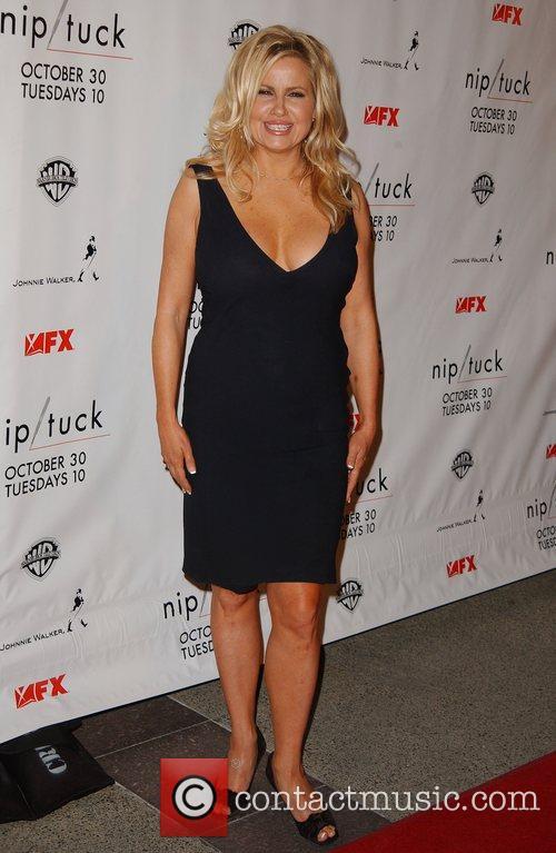 Jennifer Coolidge Nip/Tuck season five premiere at Paramount...