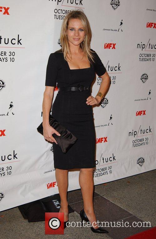 Jessalyn Gilsig Nip/Tuck season five premiere at Paramount...