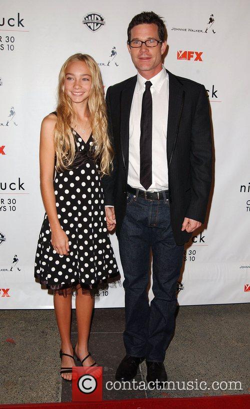 Kelsey Batelaan and Dylan Walsh Nip/Tuck season five...