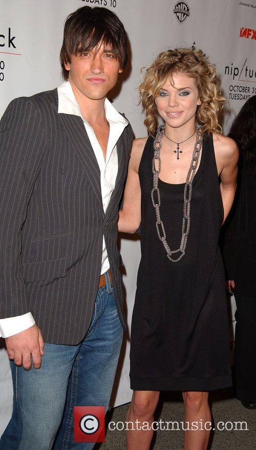 Nathan Standish and AnnaLynne McCord Nip/Tuck season five...