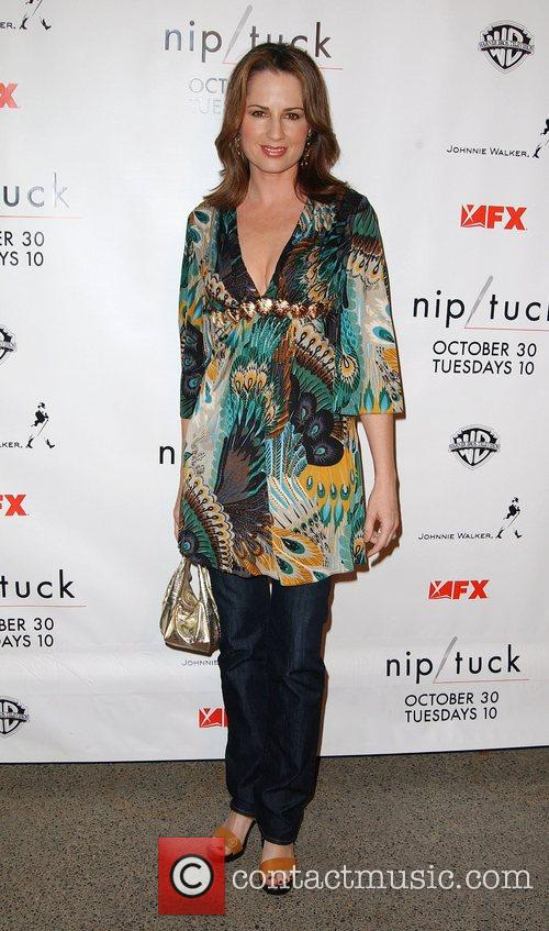Paula Marshall Nip/Tuck season five premiere at Paramount...