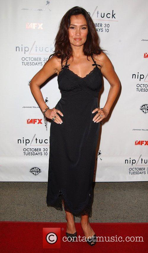Tia Carrere Nip/Tuck season five premiere at Paramount...