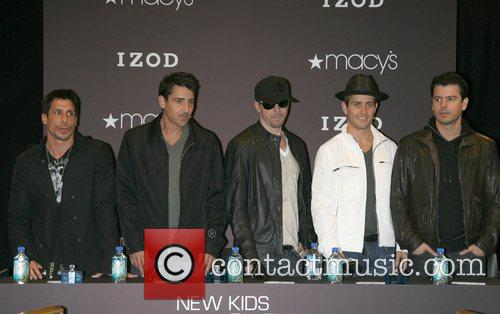 New Kids on the Block promote their new...