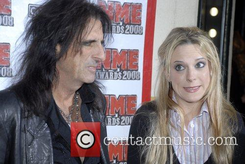 Alice Cooper and daughter Calico US NME Awards...