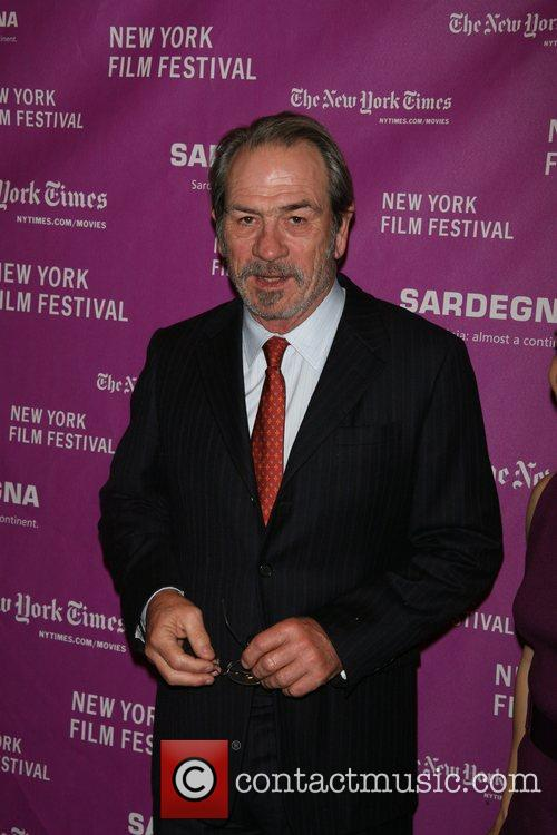 Tommy Lee Jones and wife Arrivals for NYFF...