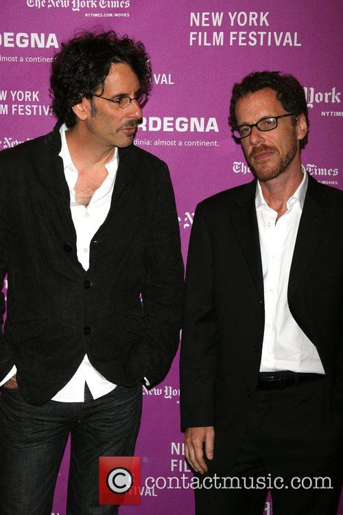 Joel Coen and Ethan Coen Arrivals for NYFF...