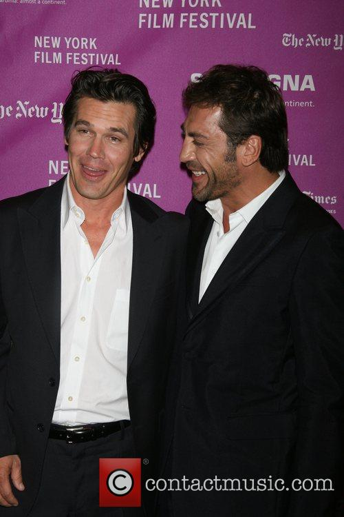 Josh Brolin and Javier Bardem Arrivals for NYFF...