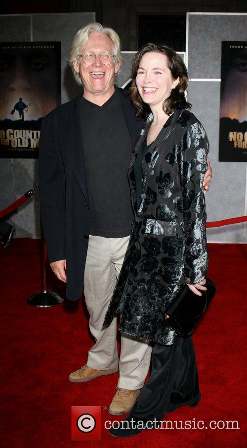 Bruce Davison and wife Michele Correy Premiere of...