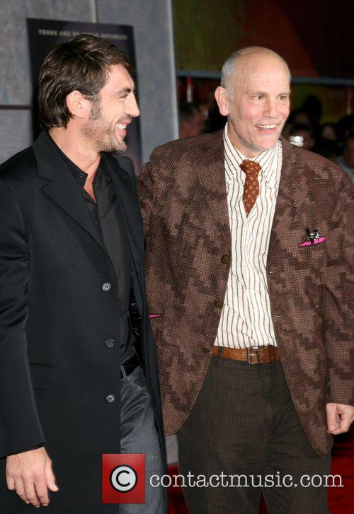 Javier Bardem and John Malkovich Premiere of 'No...