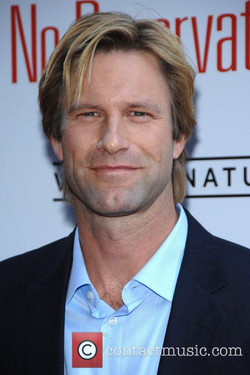 Aaron Eckhart at the NY Premiere of the...