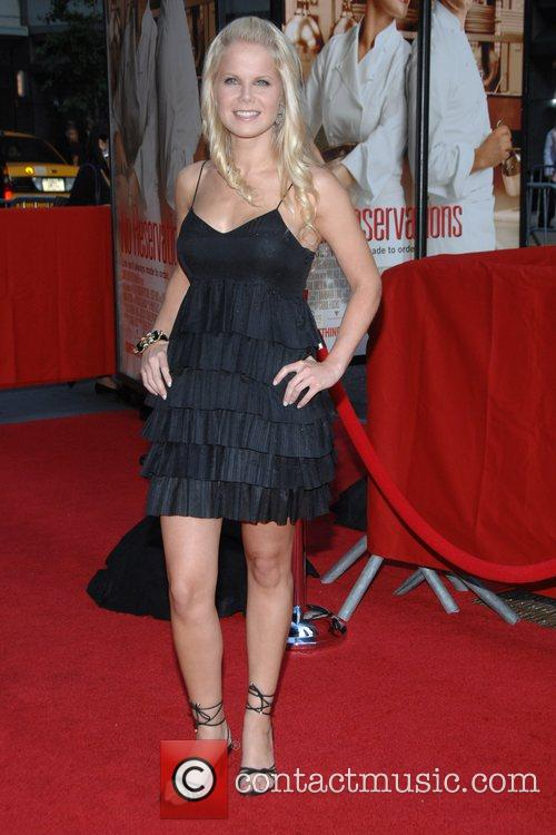 Crystal Hunt at the NY Premiere of the...