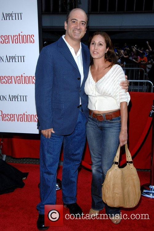 Matt Servitto with wife Monica at the NY...