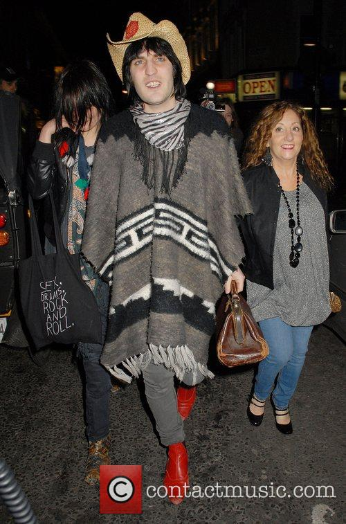 Noel Fielding and Alison Mosshart from The Kills...