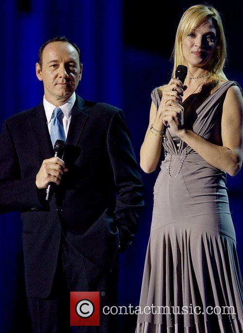 Kevin Spacey and Uma Thurman 5