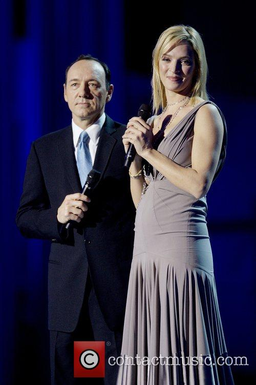 Kevin Spacey and Uma Thurman 10