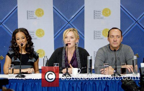 Alicia Keys, Kevin Spacey, Uma Thurman