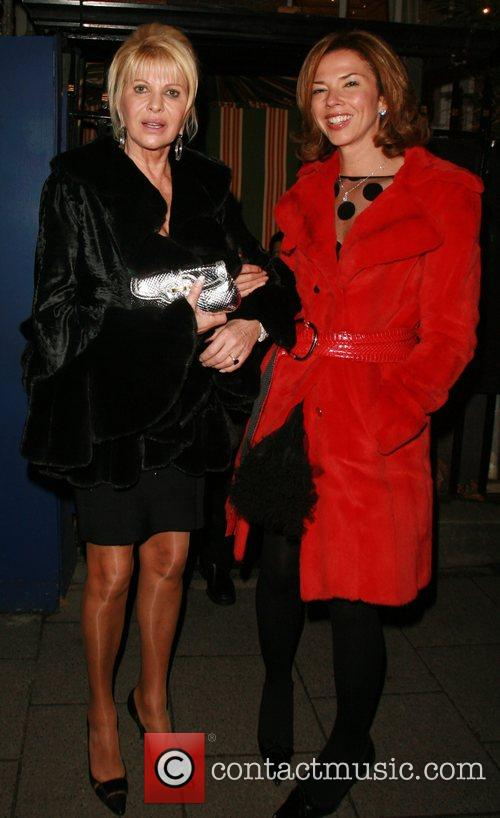 Ivana Trump and guest Chanel Party at Nobu...
