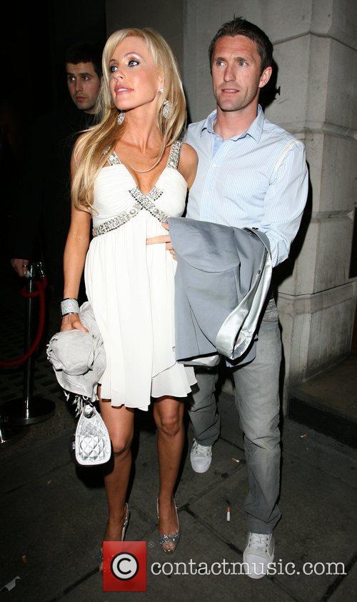 Robbie Keane and Keane 4