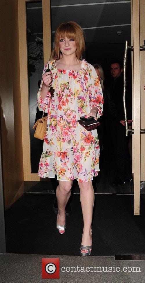 Nicola Roberts,  of Girls Aloud at Nobu London, England
