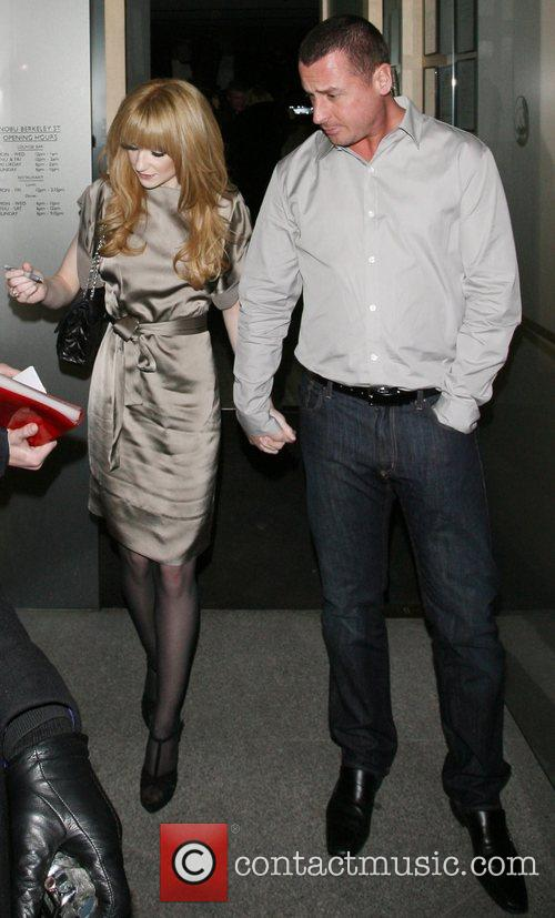Nicola Roberts of pop group Girls Aloud and...