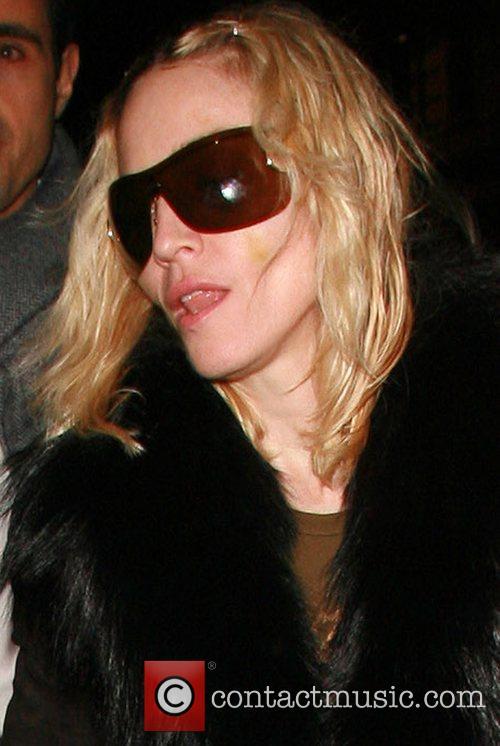 Madonna leaving Nobu Berkeley