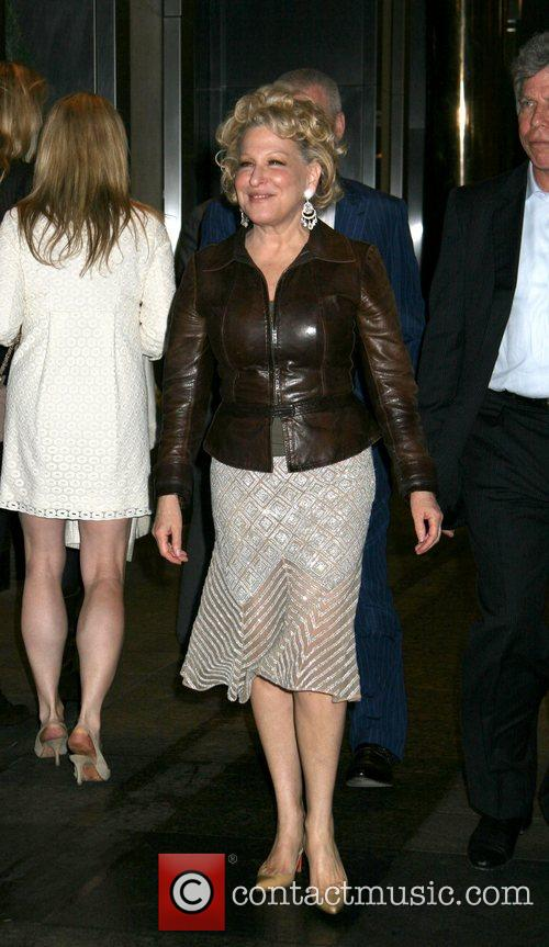Bette Midler New York Premiere of 'Then She...
