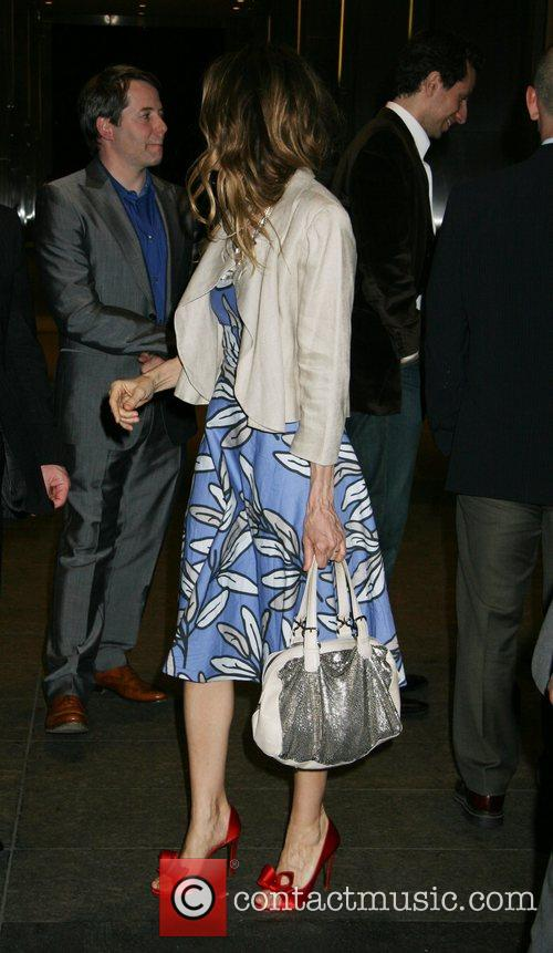 Matthew Broderick and Sarah Jessica Parker New York...