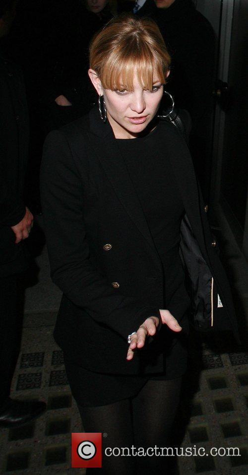 Kate Hudson leaves Nobu Berkeley London, England