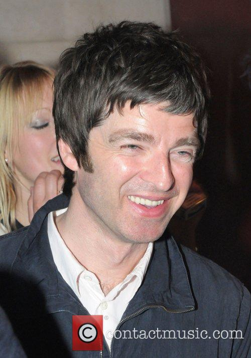 Noel Gallagher outside a club in Mayfair
