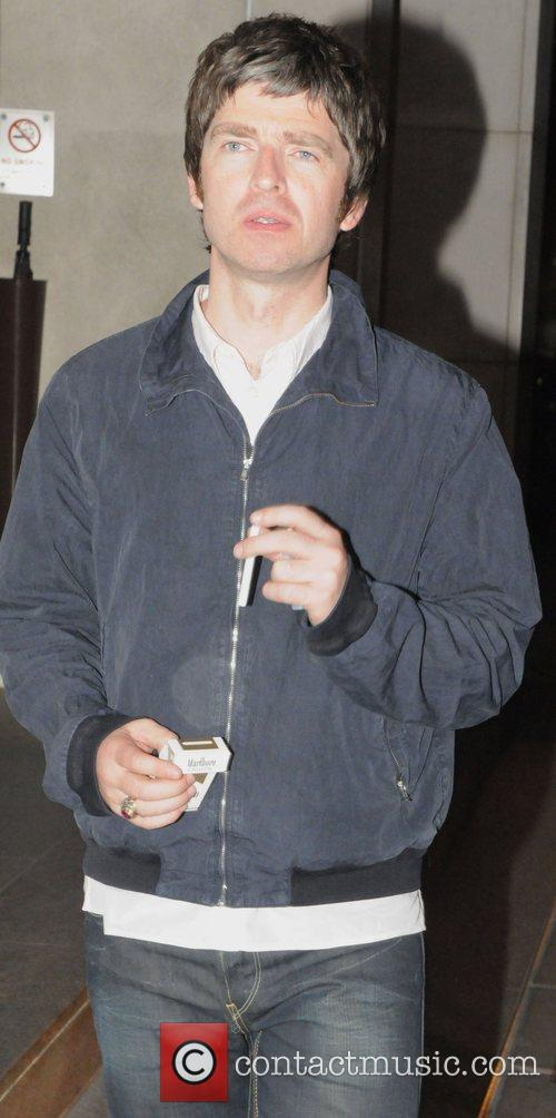 Noel Gallagher outside a club in Mayfair London....