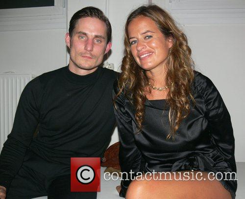 Clemens Schick and Jade Jagger Vernissage