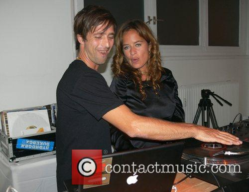 Dan Williams and Jade Jagger Vernissage